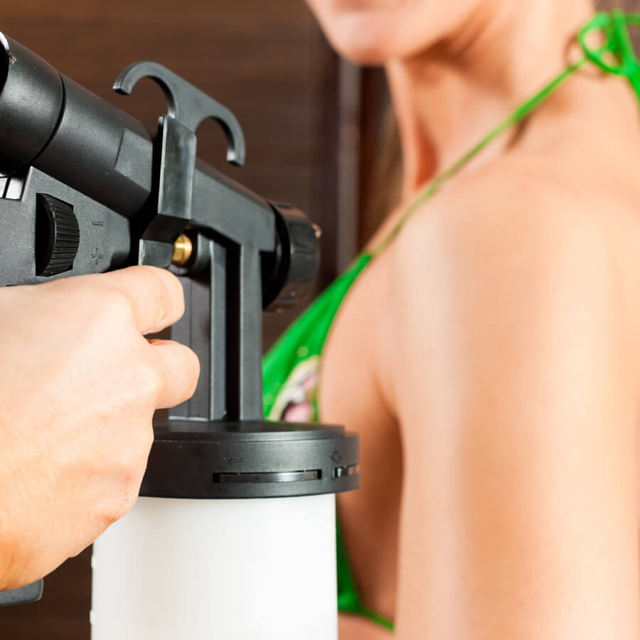 Spray Tanning at Luminess